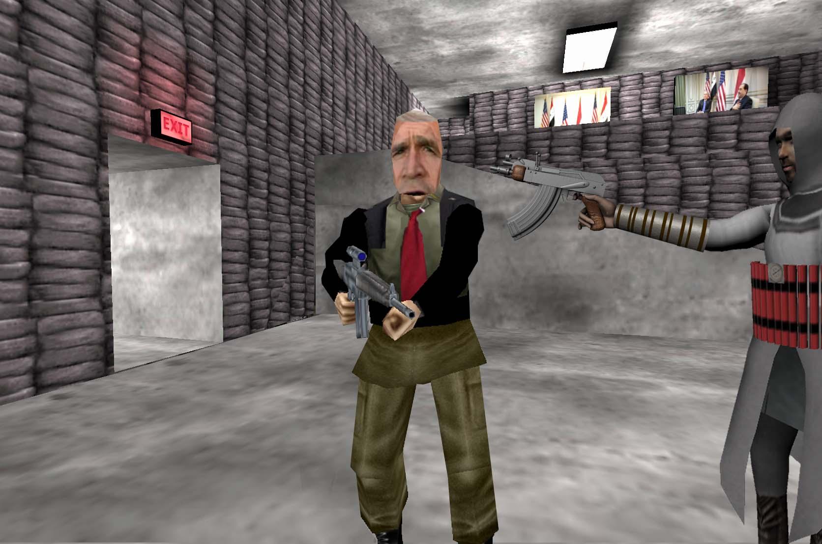 Wafaa Bila,l Virtual Jihadi, 2008, video game