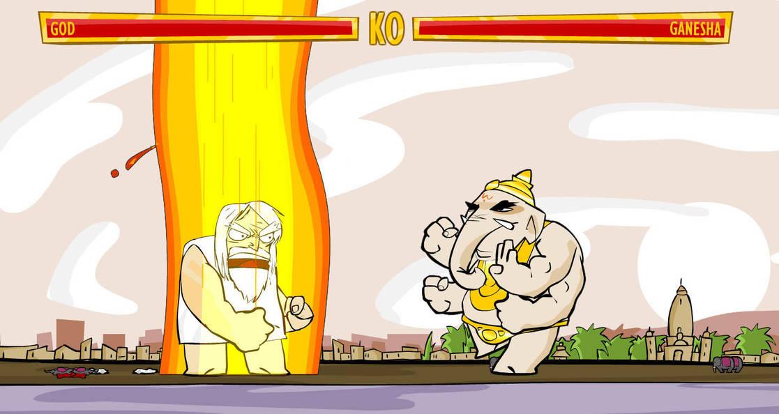 Molleindustria (a.k.a. Paolo Pedercini), Faith Fighter, 2008, Video game