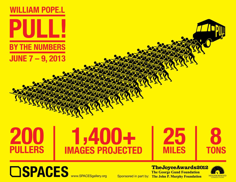 William Pope.L, Pull!, 2013, Graphic
