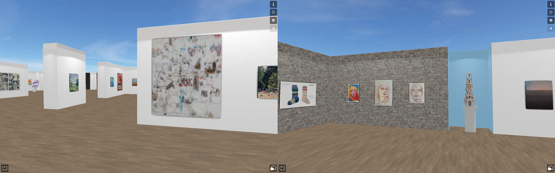 Radical Hope, 2020, installation screenshots courtesy of artists and Madeline Rupard
